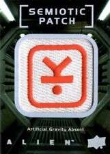 Alien Movie Semiotic Standards Patch Card, SP1 Pressurized Artificial Gravity