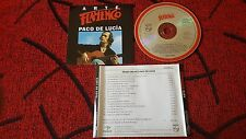 Flamenco PACO DE LUCIA **Erase Una Vez** ORIGINAL Spain CD 1994