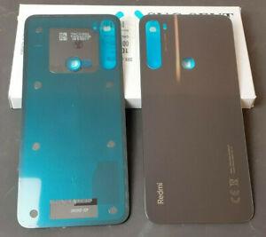 Original Xiaomi Redmi Note 8T  Backcover Rückdeckel Rückseite Glas Schwarz