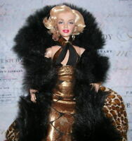 """Barbie Marilyn Monroe """"Baby it's cold outside!""""  CURVY ARTICULATED M2M Body"""