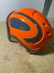Pfanner Protos Integral Forsthelm Orange / Grau / Visier Fein