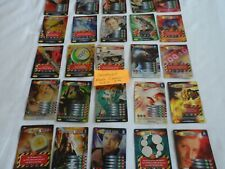 RARE INVADER CARDS FULL SET 7th DR WHO BATTLES IN TIME LOT