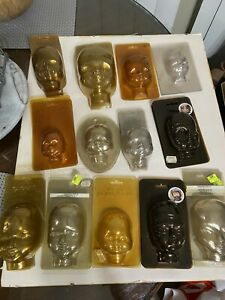 German Plastic Doll Head Molds 23 Diff Types 70 Total New