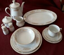 "Sango Japan Vintage Fine China 66 piece Dinner set with ""Persia"" design"