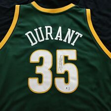 Kevin Durant Signed Adidas Seattle Sonics Size 52 Jersey  - Global Authentics