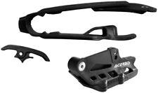 Acerbis Black Chain Guide / Slider Kit For KTM 125-450 2017, 2462630001