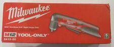 "Milwaukee 2415-20 12 V Li-Ion 3/8"" Cordless Right Angle Drill BRAND NEW SEALED"