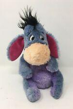 Disney Store Stamped Eeyore Donkey Soft Toy Plush Teddy Winnie The Pooh Velcro