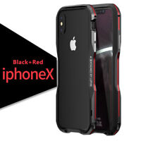 Metal Aluminum Hybrid Bumper Frame Case Hard Cover For iPhone XR XS Max 7 8 Plus