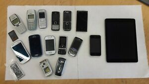 verschiedene Handy Modelle Konvolut Retro Sammlung