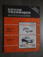 REVUE TECHNIQUE AUTOMOBILE RTA FORD GRANADA CONSUL CITROEN VISA 1979