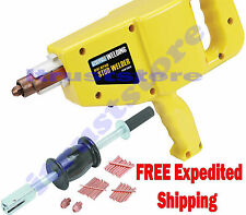 AUTO BODY REPAIR STUD GUN WELDER DENT DING REPAIR WITH 2 LB SLIDE HAMMER PULLER