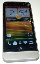 HTC One V 4GB Gray (U.S. Cellular) Android Smartphone Cracked Glass