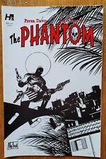 The Phantom #1 by Hermes Press, Variant cover 1F , black and white, Graham Nolan