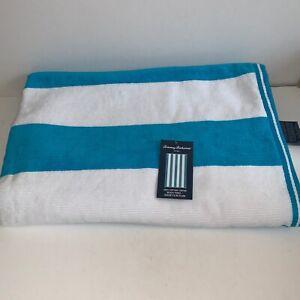 Tommy Bahama Home Beach Towel Yarn Dye Striped Authentic 100% Cotton 36x68 NWT