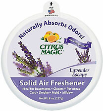 Citrus Magic Fresh Citrus Absorb Odor Solid Air Freshener 8 Ounce 6 per Case