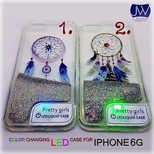 LED Liquido Glitter Custodia Per Apple IPhone 7 Belle Ragazze UK STOCK