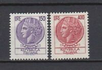 S27735) Italy MNH 1976 Definitives 2v L.150 + L.400