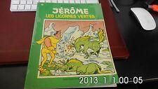 Jérôme 29 les licornes vertes - Bessy -Bob Bobette- Vandersteen