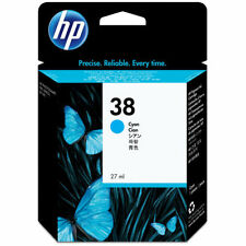 GENUINE HP HEWLETT PACKARD CYAN INK CARTRIDGE HP 38 C9415A PHOTOSMART PRO