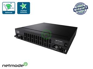 2x New Cisco ISR4451-X/K9 V06 ISR 4451 PoE 4 Port Wired Router Version
