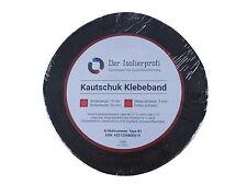 Kautschuk-Klebeband 50 mm x 3 mm schwarz  15 m-Rolle selbstklebend Isolierprofi