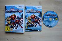 Wii - MARVEL Super Heroes 3D Grandmaster's Challenge - (OVP, mit Anleitung)