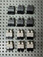 LEGO Imperial Legs x12 Dark Bluish Gray White Legs Black Boots 75252 71019 RARE