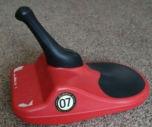 Zipfy 07 Red Freestyle Mini Luge Snow Sled
