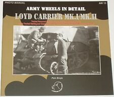 LOYD CARRIER VEHICLE British Army Transport WW2 Second World War Tracked TPC
