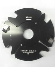 Outil pour toupie arbre de 30 pour tenonner de 14 à 28 mm Ø140 mm