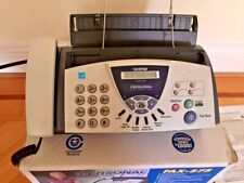 Brother Fax 575 Personal Plain Paper Fax With Phone And Copier New Open Box