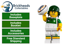 Rugby Player LEGO 71025 - Series 19 Minifigure