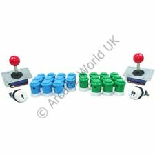2 Player Arcade Joysticks & Buttons Kit No9