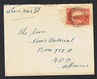 1934 Vic Centy 2d & 3d on separate covers MS322