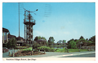 Vintage Postcard Vacation Village Resort San Diego California 1985 K2