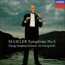 MAHLER: SYMPHONY NO. 5 CD BY  BRAND NEW SEALED