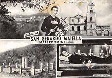 919) SALUTI DA SAN GERARDO MAIELLA MATERDOMINI (AVELLINO)  3 VEDUTINE. VG 1967