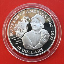 Cook Islands: 10 dólar 1990 plata, km # 121, pp-proof, # f 1304