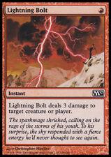 MTG LIGHTNING BOLT - POOR/ROVINATO FULMINE - M10 - MAGIC