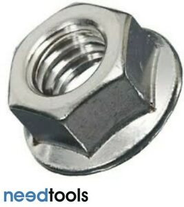 NUT Flanged 10mm Stainless Steel 304 Metric Flanged Nuts