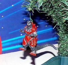 "GODZILLA CUSTOM RED GODZILLA 3"" CHRISTMAS ORNAMENT MONSTER KAIJU"