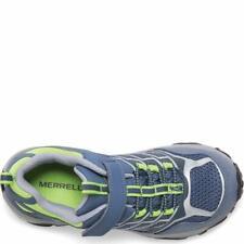 Merrell kids'S M-Moab FST Baja A/C Wtrpf Zapato de senderismo, gris/verde, tamaño 12.5 eq2y