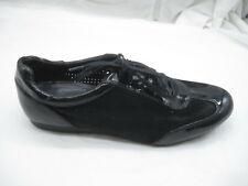 Cole Haan 8B black patent leather suede oxfords womens sneakers shoes D40291