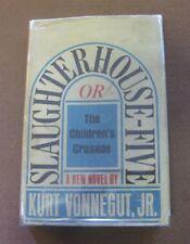 SLAUGHTERHOUSE FIVE by Kurt Vonnegut - 1st/4th  HCDJ 1969 - $5.95 - VG