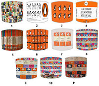 Puffin Books Lampshades, Ideal To Match Cushion Covers & Duvet Covers.