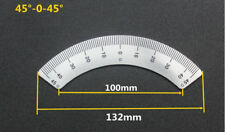 Bridgeport Mill part, milling machine 45° degree angle plate Scale ruler
