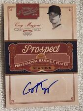 New York Mets Cory Mazzoni Signed 2011 Playoff Prime Cuts Auto Card #110/299