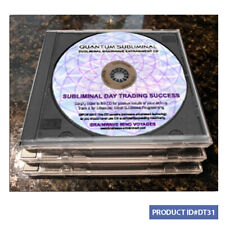 3 CD SUBLIMINAL DAY TRADING SUCCESS SUCCESSFUL TRADE STOCK MARKET TRADER WEALTH