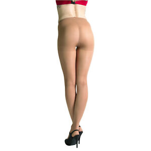 Leggs Sheer Energy Pantyhose | Glossy Control Top Medium Support Suntan | 2 Pair